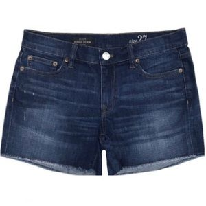 J. Crew Dark Wash Denim Shorts
